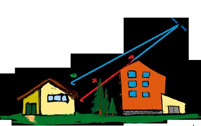 Преграды для приёма спутникового ТВ