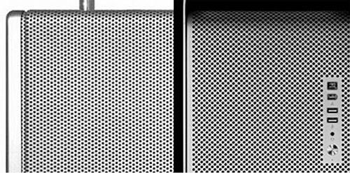 Опять они, но с другого ракурса. Решетка от радиатора и решетка динамика.