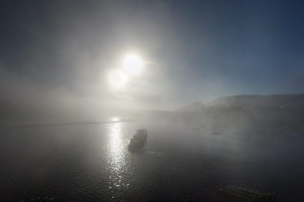 Туман в Праге Fog in Prague